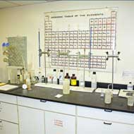 In-house laboratory at HiTech Tinning & The Plating Company